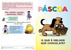 FOLHETO INFANTIL - PÁSCOA (pacote c/ 100 unidades)